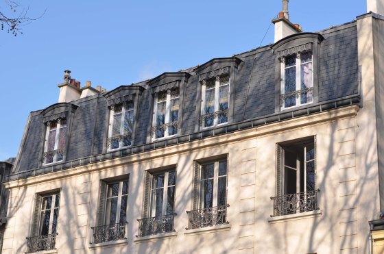 Lejlighed i Versailles - facaden